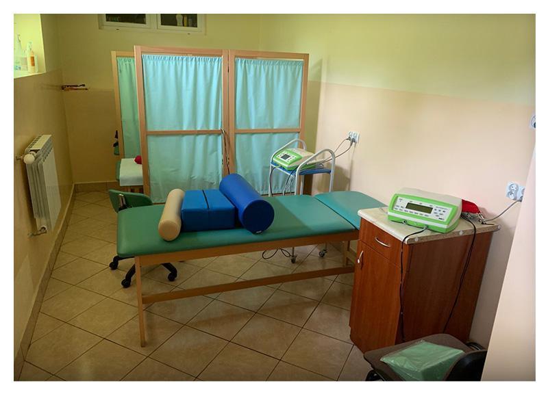 Wyposażenie przychodni rehabilitacyjnej