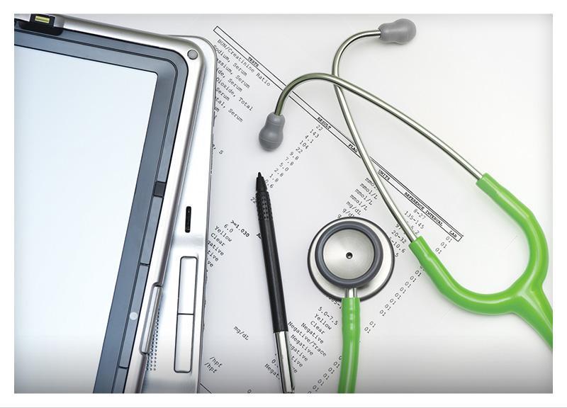 Stetoskop laptop idlugopis nastole